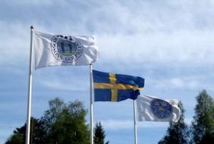 Vi flaggar för nationaldagen  den 6 juni.