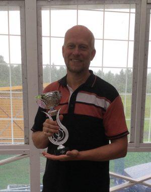 Magnus Nilsson, årets klubbmästare på Rossöns GK